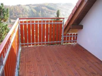 Balkonové zábradlí plastové